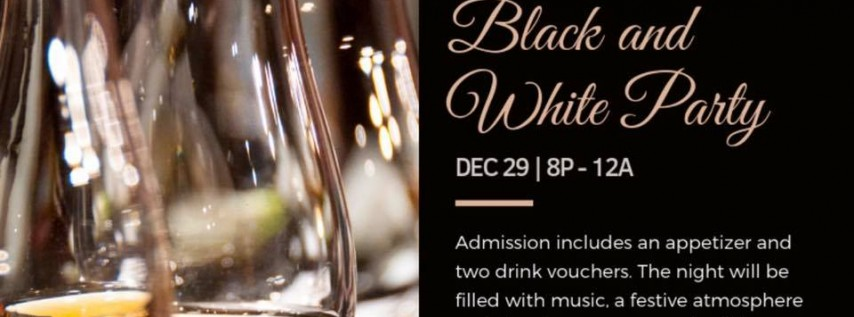 Black and White Party at The Attic Cafe