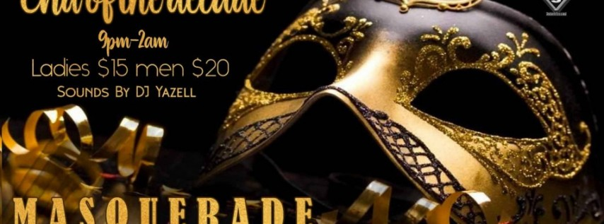 YRS Ent. Pres. New Year's Eve Masquerade Ball 2020 'End Of The Decade'!