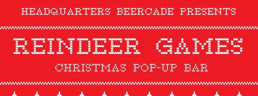 Reindeer Games: Christmas Pop-up Bar!