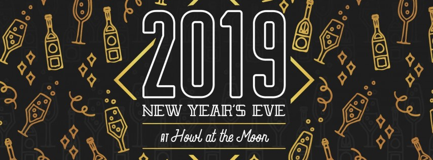 New Year's Eve 2019 at Howl at the Moon Indianapolis!