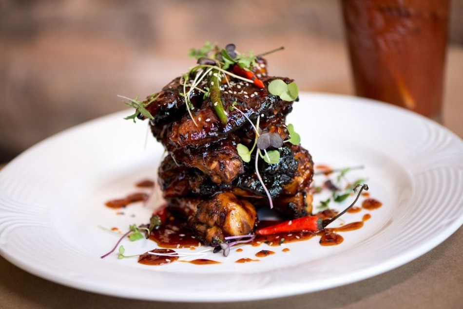 Celebrate National Chicken Wing Day with Bistro Off Broad's Sweet & Spicy Thai Grilled Wings