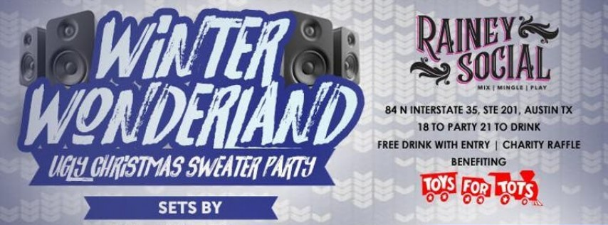 Winter Wonderland Ugly Christmas Sweater Party