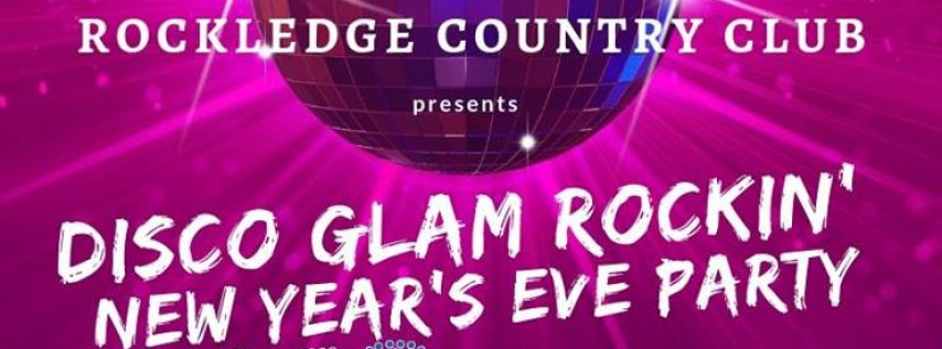 Disco Glam Rockin' New Year's Eve Party