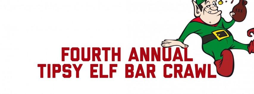 Fourth Annual Tipsy Elf Bar Crawl