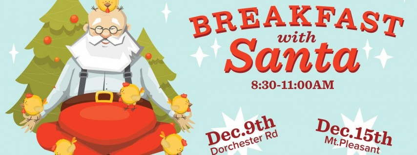 Breakfast with Santa on Coleman Boulevard