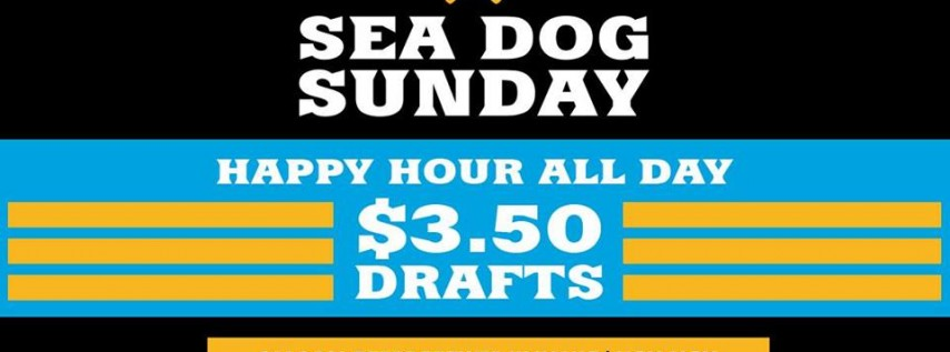 Sea Dog Sunday: All Day Happy Hour & Games In the Garden