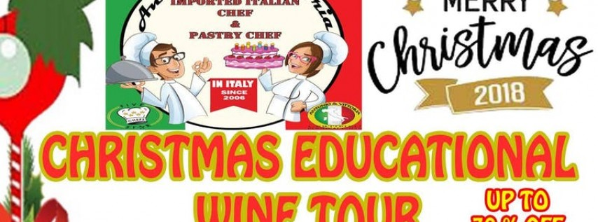 Christmas Educational Wine Tour