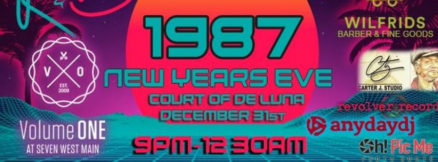 1987 New Year's Eve