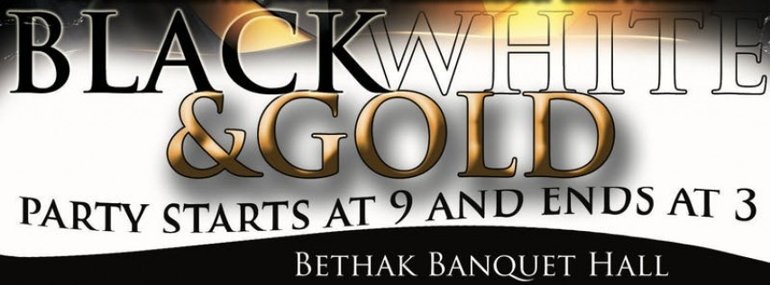 Black White & Gold Pre New Year's Eve Bash