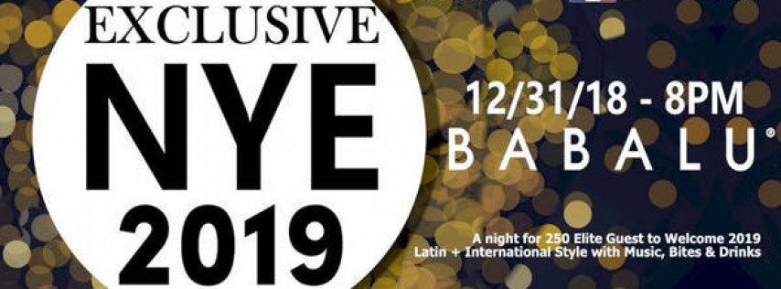 Exclusive Nye 2019 @ Babalu