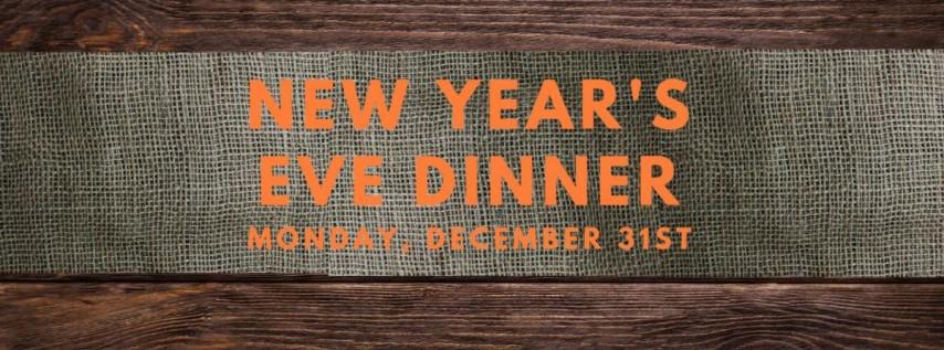 New Year's Eve Dinner at Burlock Coast