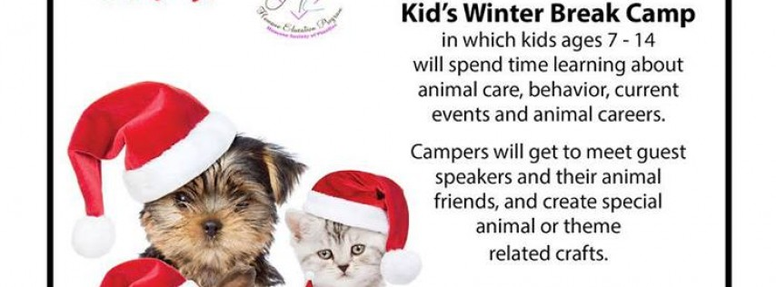 Kids' Winter Break Camp