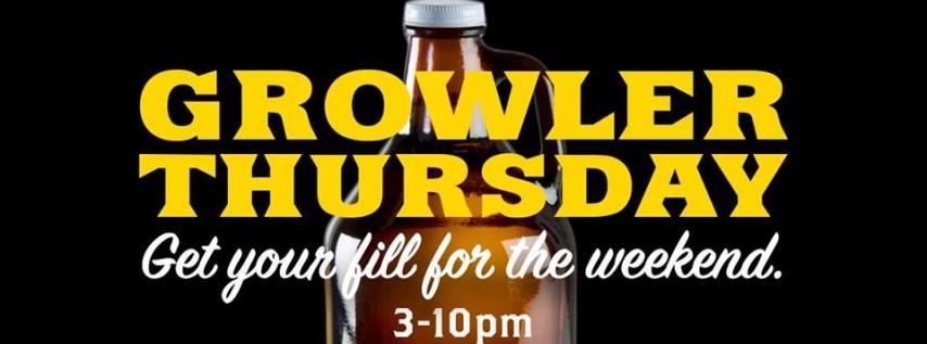 Growler Thursdays | Growler Fills at Sea Dog