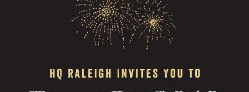New Years Eve Bash Hosted By HQ Raleigh