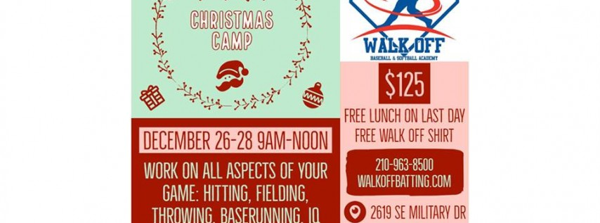 Holiday Camp at Walk Off
