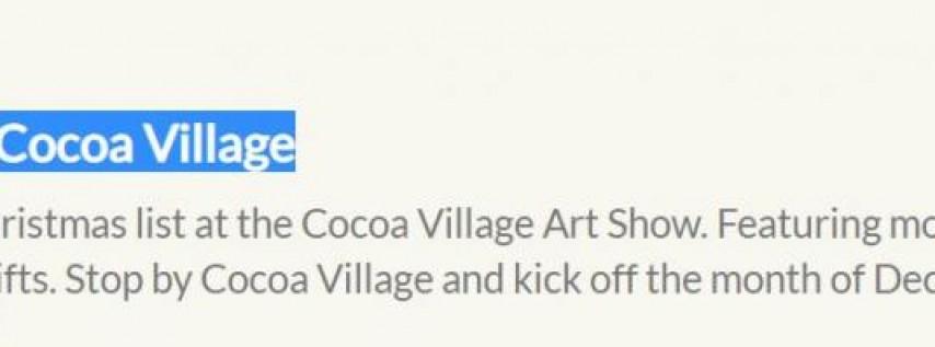 Cocoa Village Art Show