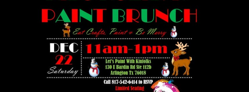 Kids Holiday Paint Brunch