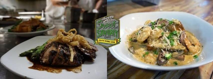 Sunday - Shrimp n Grits & 8oz USDA Prime Sirloin