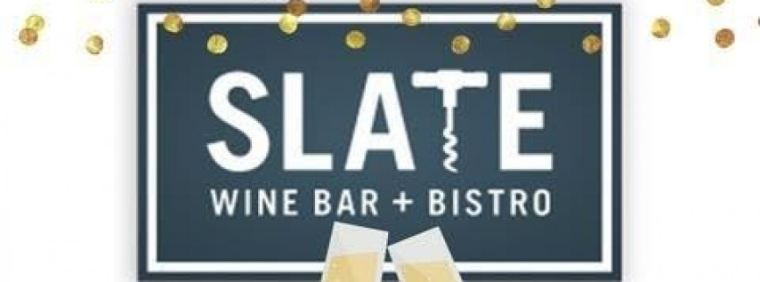 New Year's Eve Festivities at Slate Wine Bar + Bistro