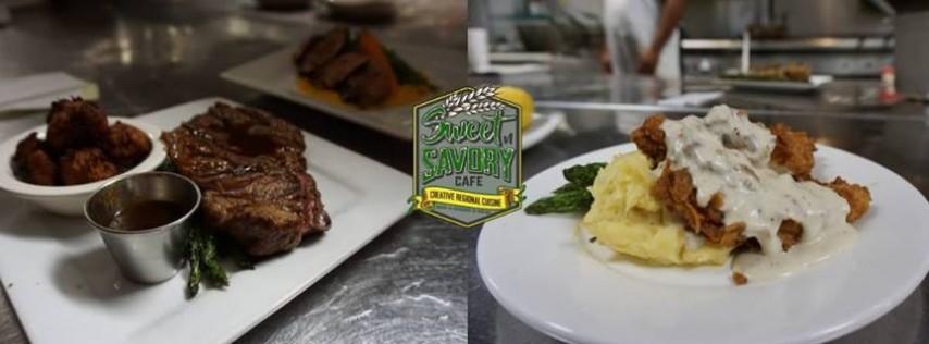 Monday - 10oz USDA Prime NY Strip & Fried Chicken
