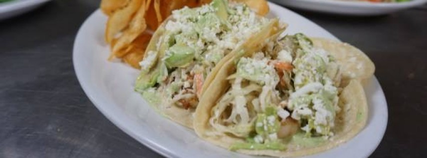 Tuesday Lunch - Beer Battered Fish Tacos $7.99