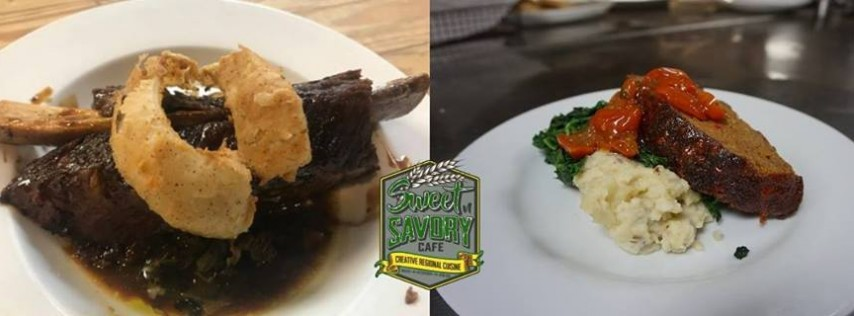 Tuesday - Bone in Beef Short Ribs & Meatloaf