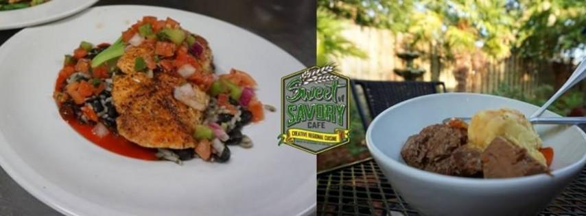 Wednesday - Salmon & Pot Roast