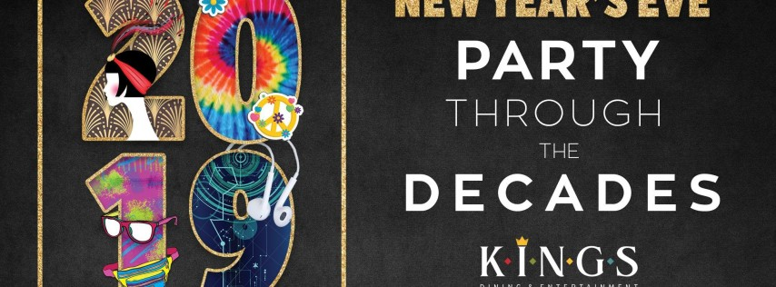 New Year's Eve: Party Through The Decades at Kings Chicago-Lincoln Park