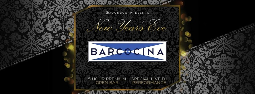 Joonbug.com Presents Barcocina New Years Eve Party 2019