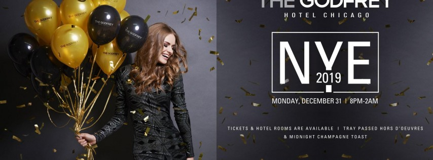 New Years Eve 2019 I|O at The Godfrey Hotel Chicago