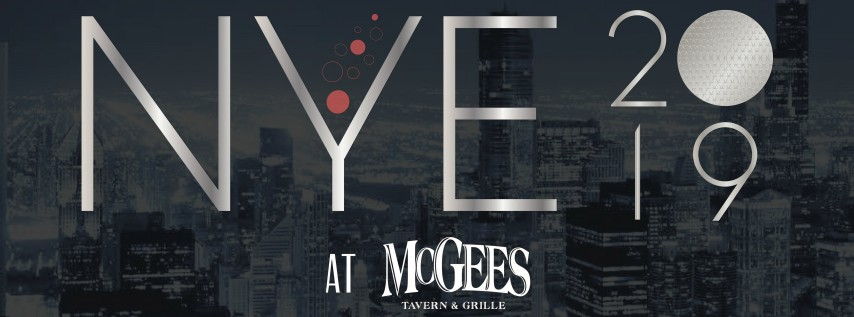 McGee's New Year's Eve 2019 - Lincoln Park's Wildest Party!