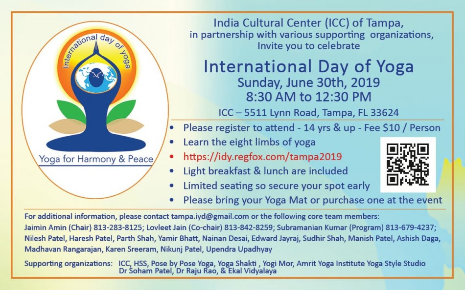 The 5th International Day of Yoga