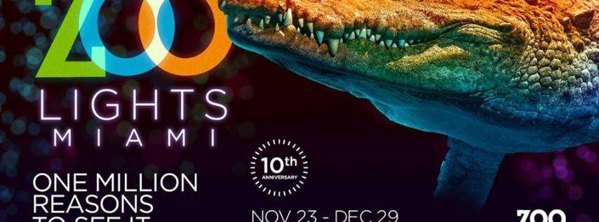 Zoo Lights Miami: 10th Anniversary