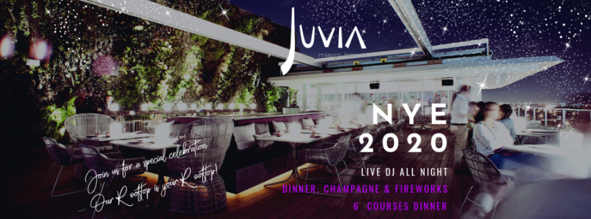 NEW YEAR'S EVE 2020 at Juvia Miami Beach