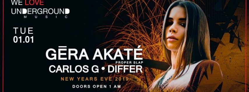 New Years Eve / Gera Akate, Carlos G, Differ