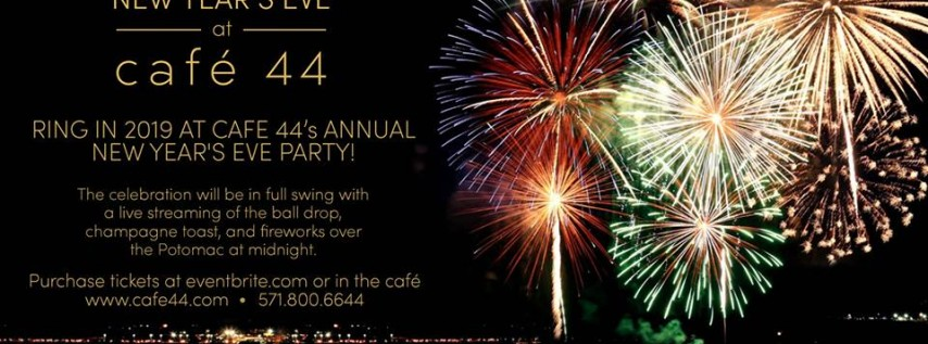 New Year's Eve @ Cafe 44