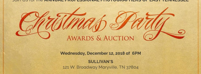 2018 PPETN Christmas Party, Awards & Auction