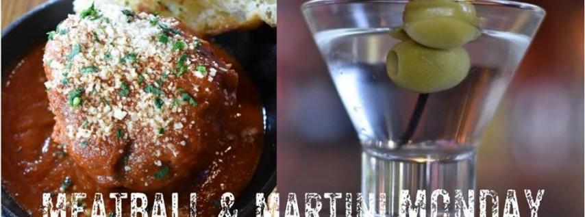 Lena's Meatball & Martini Monday!
