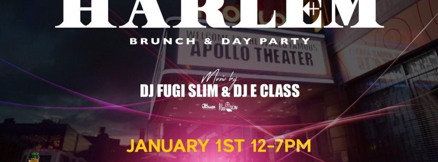 Hangover in Harlem: New Year's Day Brunch & Day Party