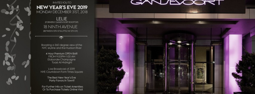 New Year's Eve 2019 at Gansevoort Meatpacking Rooftop