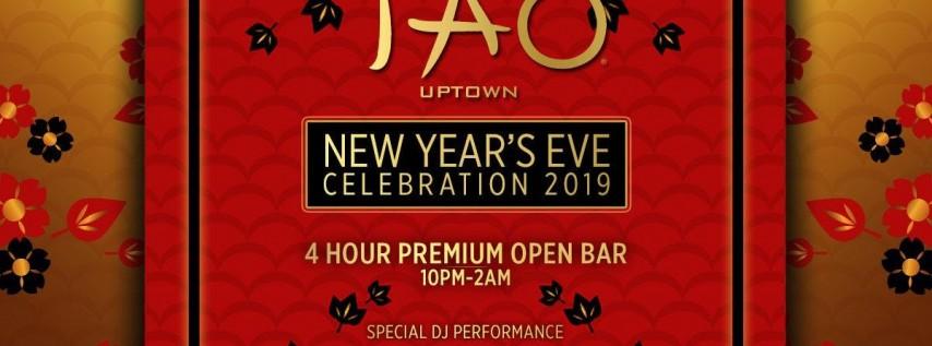 Joonbug.com Presents TAO Uptown New Years Eve Party 2019