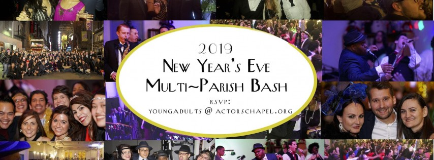 2019 New Year's Eve Multi-Parish Bash!