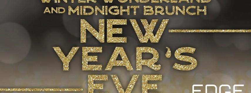 Winter Wonderland and Midnight Brunch New Year's Eve at EDGE Bar