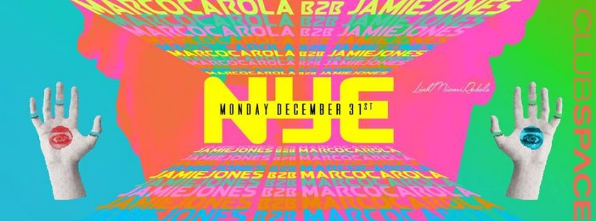 NYE with Marco & Jamie at Space Miami