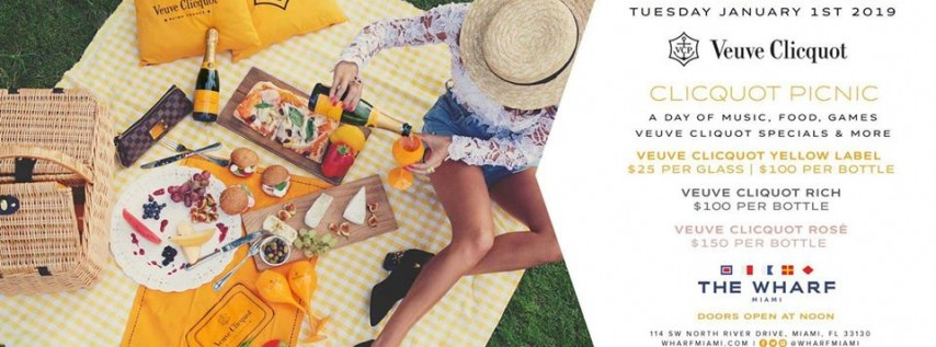 New Year's Day: Veuve Clicquot Picnic