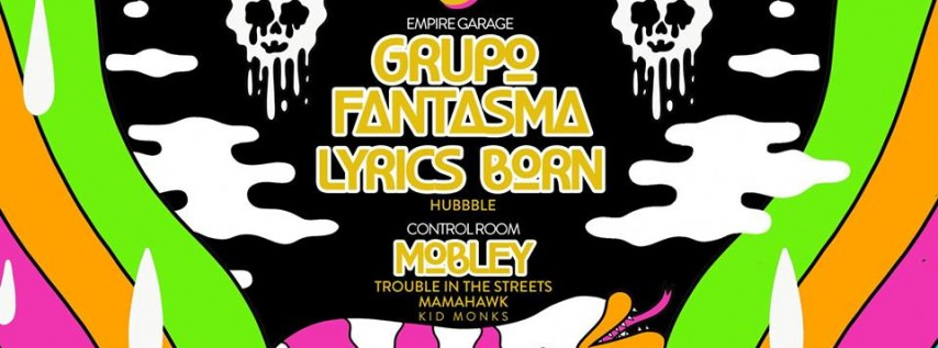 NYE 2018 ft Grupo Fantasma, Lyrics Born, Mobley & More at Empire