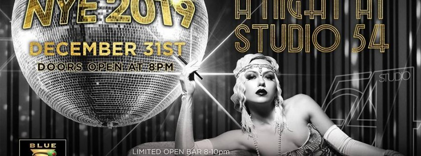 Blue Martini West Palm Beach Studio54 New Year's Eve 2019