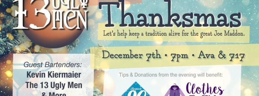13 Ugly Men saves Thanksmas: A Joe Maddon Tradition