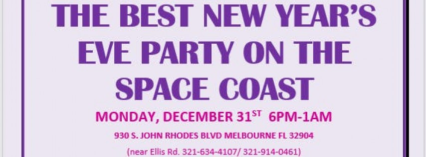 The Best New Years Eve Celebration in the Space Coast!