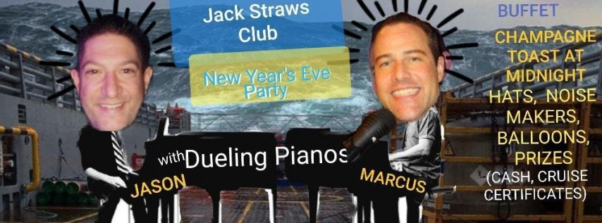 Space Coast Dueling Pianos!... New Years Eve 2019 at Jack Straws!